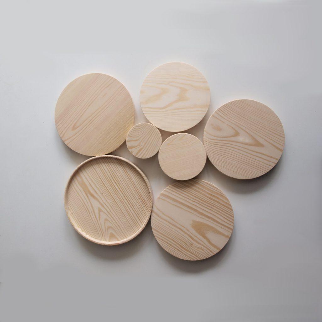 Dodatki Do Wazonów - Przykrywki Drewniane Bovem Design